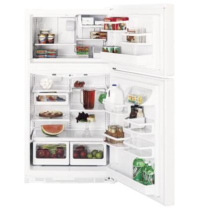 GE PTI22MBMLWW Profile Series Refrigerator with 21.9 cu. ft. Capacity in White