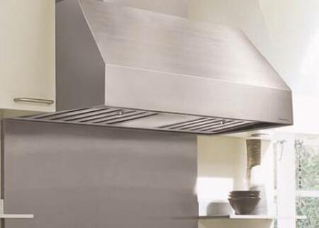 "Vent-A-Hood M Line Series PRH18-MXX SS XX"" Canopy Pro Style Wall Mounted Range Hood With 1035 CFM, 2 Level Halogen Lighting, Industrial Grade SS Baffle Filters, In Stainless Steel (Blower Sold Separately)"