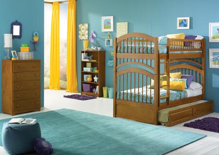 Atlantic Furniture WINTTCL  Twin Size Bed