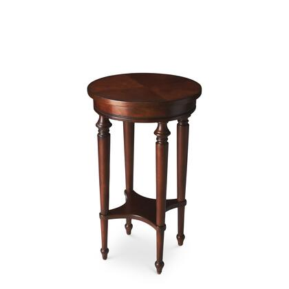 Butler 2100024 Plantation Cherry Series Traditional Round End Table