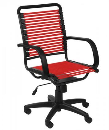 "Euro Style 02570RED 24"" Contemporary Office Chair"