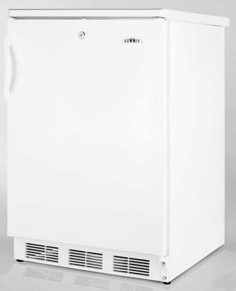 Summit FF6L7BI  Compact Refrigerator with 5.5 cu. ft. Capacity in White