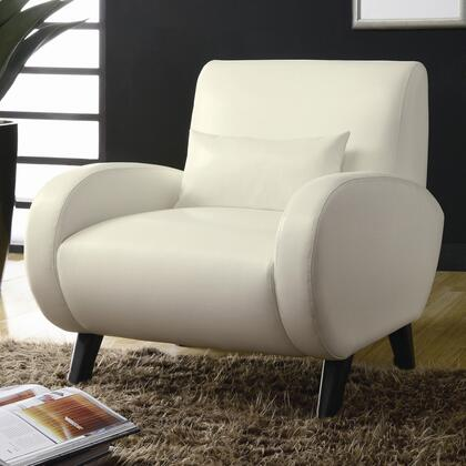 Coaster 902012 Club Bonded Leather Wood Frame Accent Chair