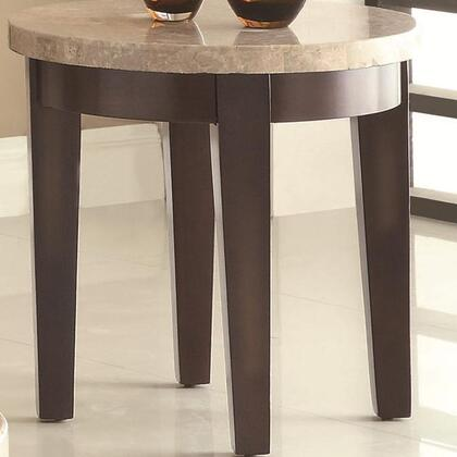 Coaster 701887 701880 Series Casual Round End Table