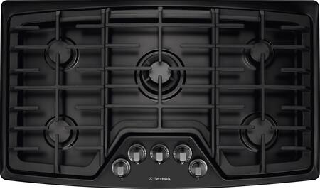 "Electrolux EW36GC55PX 36"" Gas Cooktop with 5 Sealed Burners, Min-2-Max Gas Burner, Professional-Grade Control Knobs, Deep-Well Design, Continuous Grates, Electronic Ignition and ADA Compliant in"
