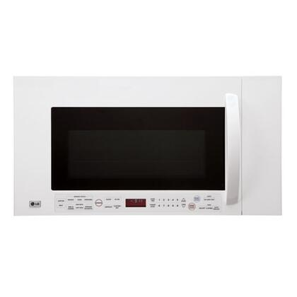LG LMVM2085SW 2 cu. ft. Over the Range Microwave Oven with 300 CFM, 1100 Cooking Watts, in White
