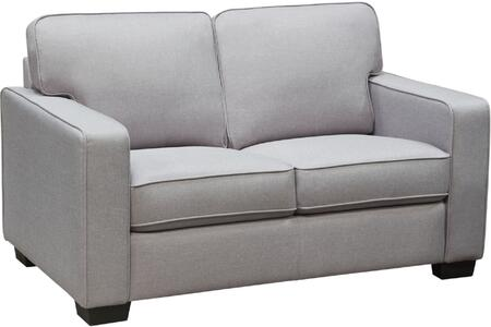Diamond Sofa WATSONLOLG Watson Series Fabric Stationary with Wood Frame Loveseat