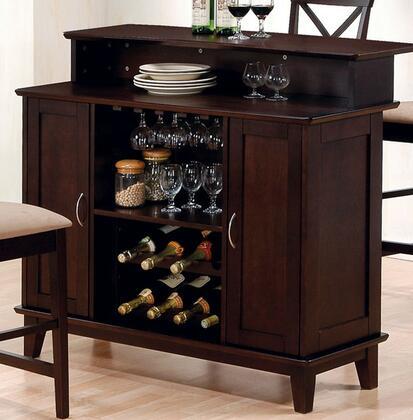 """Coaster 100218 Mix & Match Series 25"""" Bar Cabinet,"""