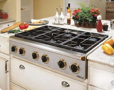 Dacor ESG366SCH Classic Epicure Series Gas Sealed Burner Style Cooktop