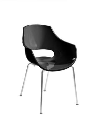 Euro Style 90016BLK Paige Series  Dining Room Chair