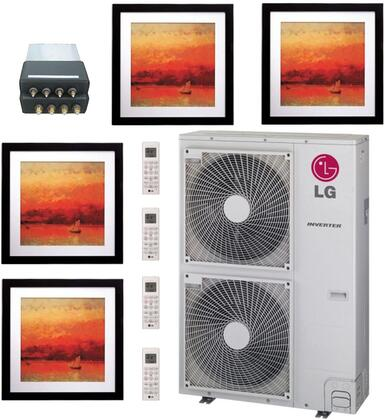 LG 705780 Quad-Zone Mini Split Air Conditioners