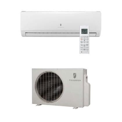 Friedrich MYJ Single Zone Ductless Split System with x BTU Heat Pump, Inverter Technology, 4-Way Auto Swing, x BTU Cooling Capacity, x SEER, x EER, and R410A Refrigerant