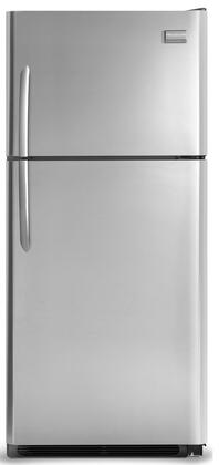 Frigidaire FGHT2144KF Gallery Series Freestanding Top Freezer Refrigerator with 20.61 cu. ft. Total Capacity 3 Glass Shelves 5.26 cu. ft. Freezer Capacity