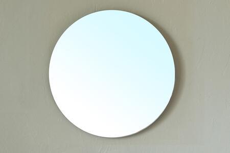 Bellaterra Home 203116MIRROR  Round Both Bathroom Mirror