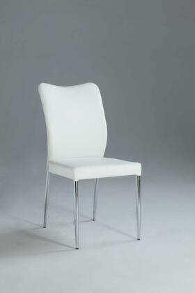 Chintaly NORASC NORA DINING Curvy Back Side Chair