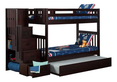 Atlantic Furniture AB63631  Twin Size Bunk Bed