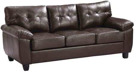 Glory Furniture G905AS  Stationary Faux Leather Sofa