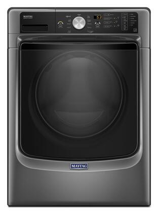"Maytag MHW550F 27"" Energy Star, ADA Compliant Front Load Washer with 4.5 cu. ft. capacity, Power Wash System, Fresh Hold Option, Steam Clean and Sanitize Cycle:"