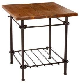 Stone County Ironworks 900323HPN  End Table