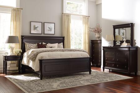 Broyhill 4907KPBNTCDM Aryell King Bedroom Sets