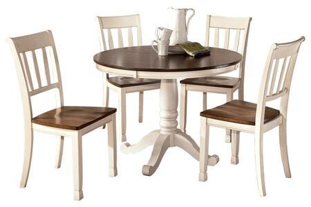 Milo Italia DR417RDT4SC Ferne Dining Room Sets
