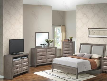 Glory Furniture G1505AKBCHDMTV2 G1505 King Bedroom Sets