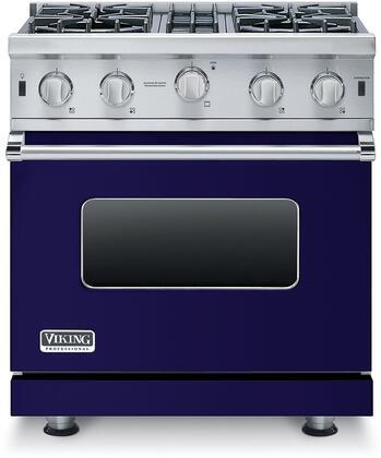 VGIC53014BCB viking vgic53014bcb 30 inch 5 series cobalt blue gas freestanding