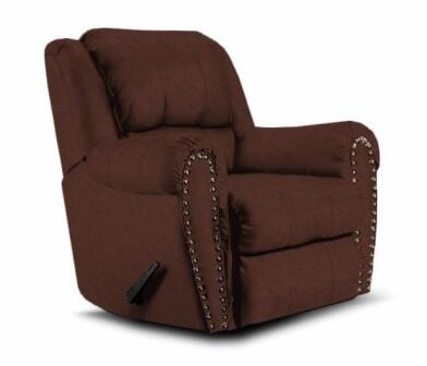 Lane Furniture 21495102540 Summerlin Series Transitional Fabric Wood Frame  Recliners