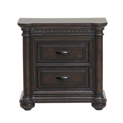 Samuel Lawrence 8920050 Grand Manor Series Rectangular Wood Night Stand