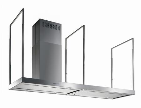"Futuro Futuro ISxEUROPESTN x"" Europe Station Series Range Hood with 940 CFM, 4-Speed Electronic Controls, Delayed Shut-Off, Filter Cleaning Reminder, and in Stainless Steel"