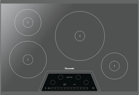 "Thermador CIT304KM 30"" Masterpiece Series Yes Cooktop, in Silver"