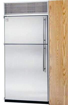 Northland 30TFSSR Built In Counter Depth Top Freezer Refrigerator with 19.4 cu. ft. Total Capacity 8 Glass Shelves 6 cu. ft. Freezer Capacity
