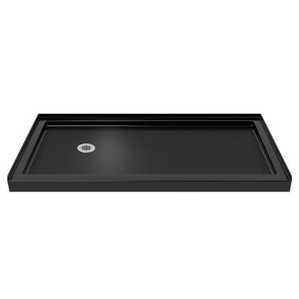 DreamLine SINGLE THRESHOLD BASE 60 L Black Finish