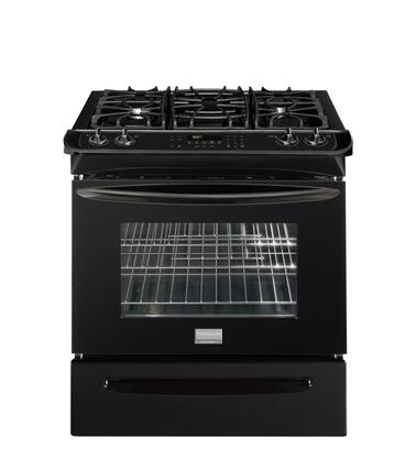 "Frigidaire FGGS3045KB 30"" Slide-in Gas Range"
