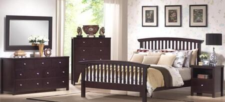 Donco BB0016Q  Queen Size Bed
