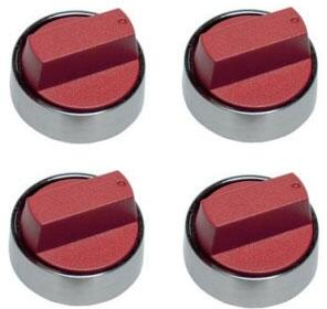 """Wolf 8244X Set of Knobs for 30"""" Professional Gas Cooktop, in"""