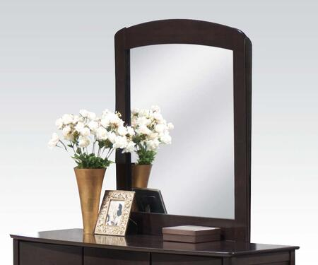 Acme Furniture 1SMM San Marino Mirror with Arched Top, Hardwood Solids and Veneers in