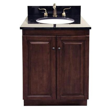 Legion Furniture WLF5047-DWXX-CABINETONLY Dark Walnut Vanity W/Soft Close Doors - No Faucet