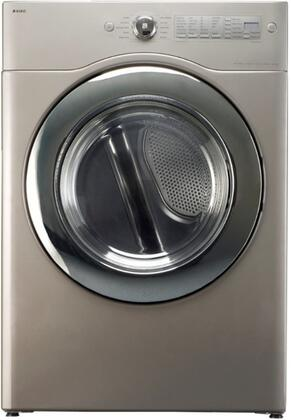 Asko TLS752XXLGPP XXL UltraCare Series  Gas Dryer, in Chrome