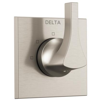 Zura T11874-SS Delta Zura: 3-Setting Diverter Trim in Stainless