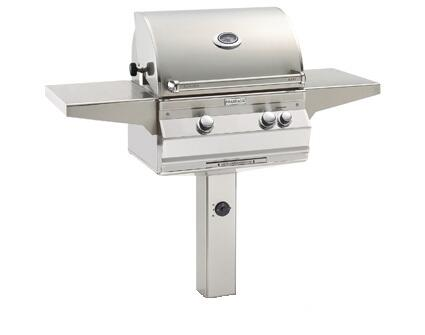 """FireMagic A430S5E1NX6 Aurora 55.75"""" Natural Gas Grill with E-Burners and Digital Thermometer"""
