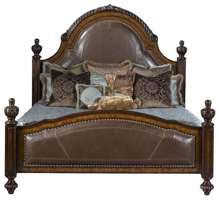 Ambella 00924200184 Cheyenne Series  King Size Panel Bed