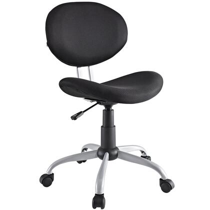 """Modway EEI709BLK 20"""" Adjustable Contemporary Office Chair"""