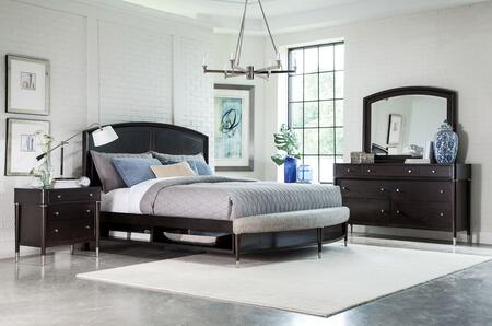 Broyhill 4257KPSBNDM Vibe King Bedroom Sets
