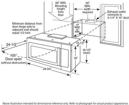 Ge Cafe Cvm9215slss 2 1 Cu Ft Over The Range Microwave
