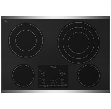 Whirlpool G9CE3074XS Electric Cooktop