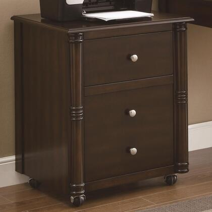 "Coaster 800476 22"" Wood Casual File Cabinet"