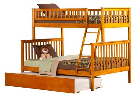 Atlantic Furniture AB56257  Twin over Full Size Bunk Bed