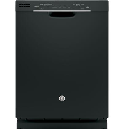 """GE GDF520P 24"""" Energy Star Built In Dishwasher with 16 Place Settings, 4 Wash Cycles, 54 dBA, Steam Prewash, SpaceMaker Basket and Piranha Hard Food Disposer, in"""