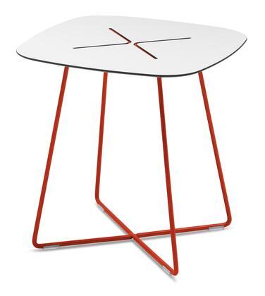 Domitalia CROSSC05FRTHBI Red Contemporary Table